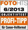 Profi-Tipp für Canon Vollformat laut FotoHits 06/2013