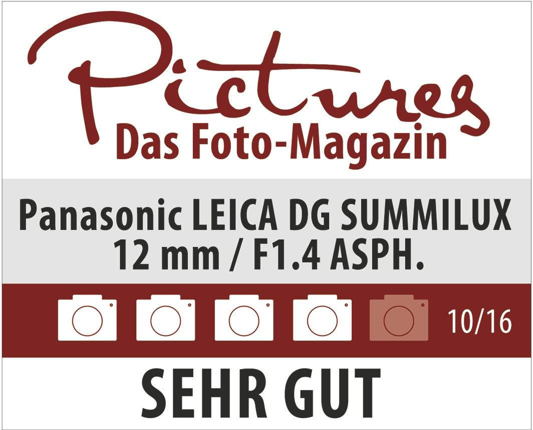 Pictures Magazin: Sehr gut