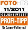 Profi-Tipp für Canon-Vollformat laut FotoHits 11/2011